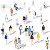 stock photo of diversity  - Diverse Diversity Ethnic Ethnicity Togetherness Variation Crowd Concept  - JPG