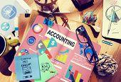 pic of revenue  - Accounting Investment Expenditures Revenue Data Report Concept - JPG