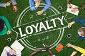 stock photo of loyalty  - Loyalty Values Honesty Integrity Honest Concept - JPG