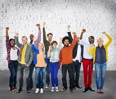 image of diversity  - Diverse Diversity Ethnic Ethnicity Unity Variation Concept - JPG