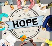 stock photo of worship  - Hope Worship Prayer Spirituality Pray Concept - JPG