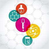 stock photo of chemistry  - chemistry concept design - JPG