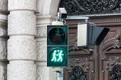 picture of homogeneous  - Traffic light Vienna for more tolerance stoplight with same-sex symbol