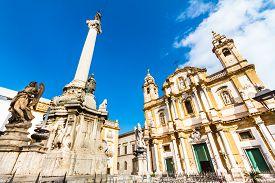 foto of dominate  - Church of Saint Dominic in Palermo - JPG