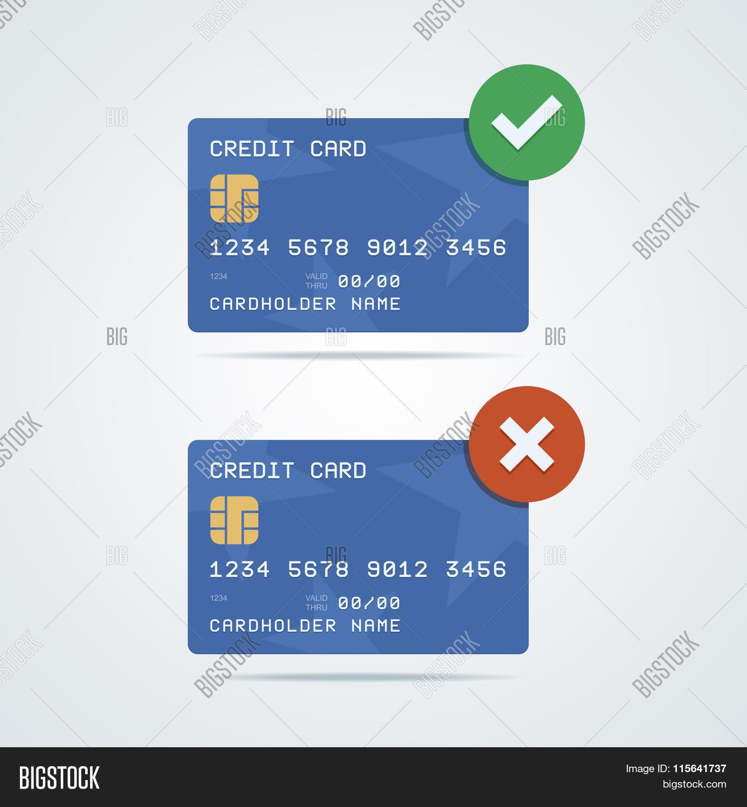credit debit card chip number vector  photo  bigstock