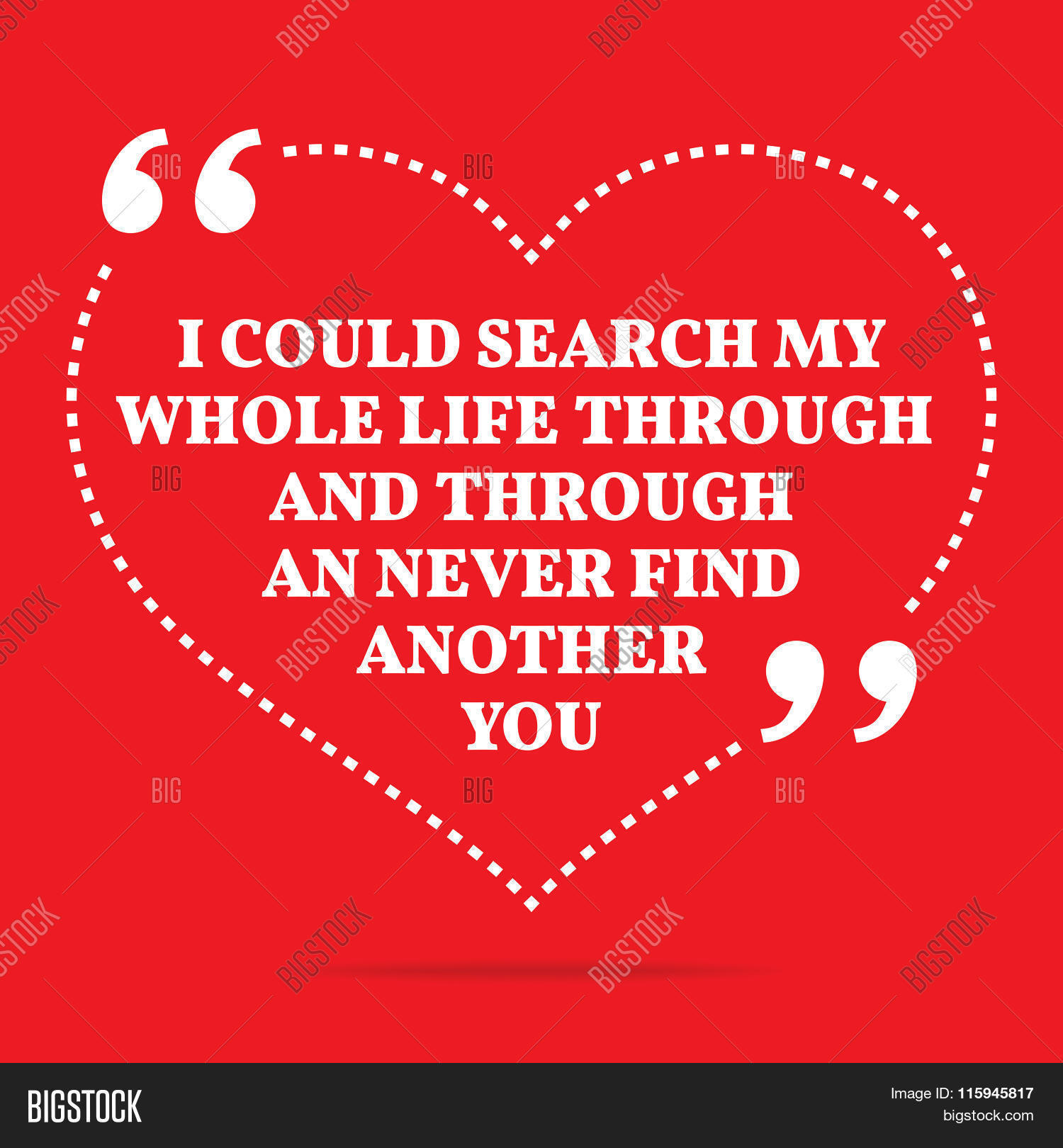 Search Love Quotes Inspirational Love Quotecould Vector & Photo  Bigstock