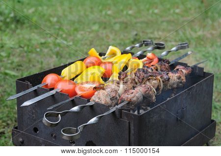 Roasted Meat With Vegetable