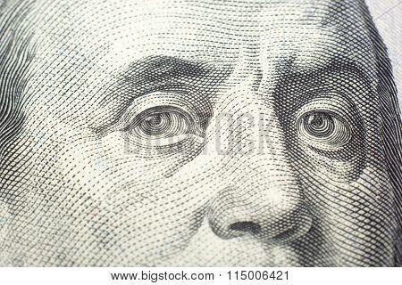 Money background - American dollars.