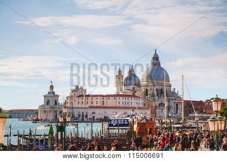 San Marco Square In Venice, Italy