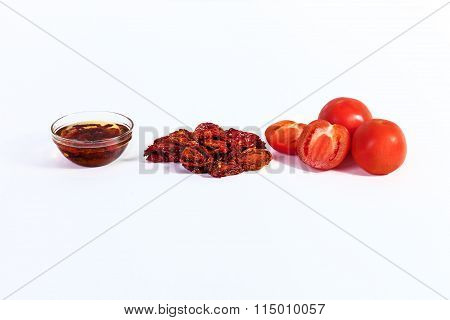 dried tomatoes cooked for dried tomatoes, sun-dried tomatoes wit