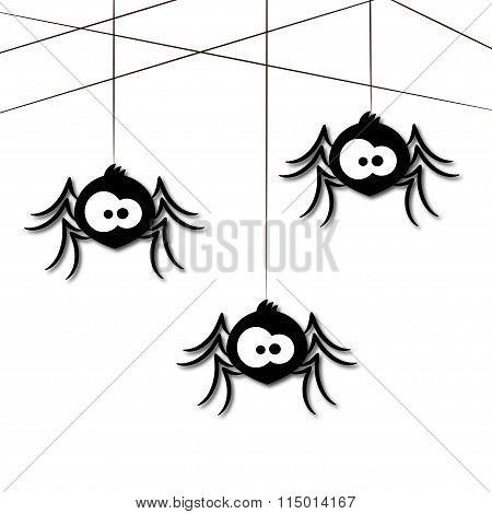 Funny Spider Cartoon