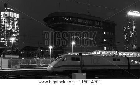 ICE at Frankfurt am Main, Haupbahnhof