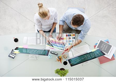 Brainstorming Planning Partnership Strategy Concept