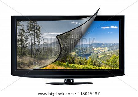 Television Display Concept.
