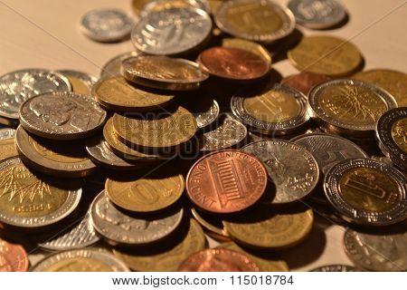 Monedas, coins