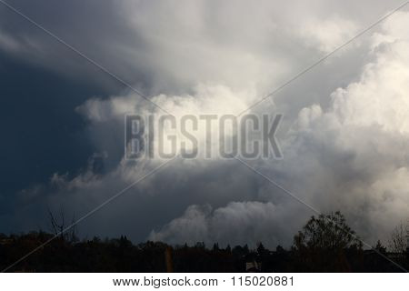 Clouds formations