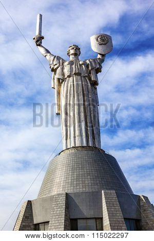 World War 2 Victory Rodina-mat Motherland Soviet Monument Great Patriotic War Museum Kiev Ukraine