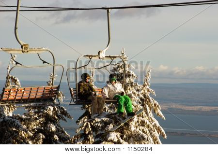 On A Lift Chair