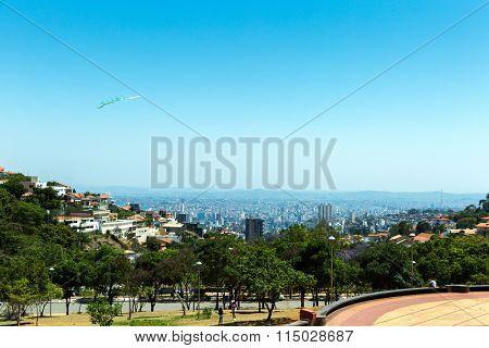 Belo Horizonte skyline in Minas Gerais, Brazil