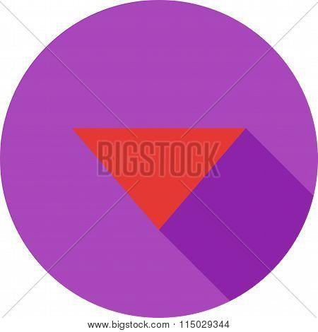 Triangle Arrow Down