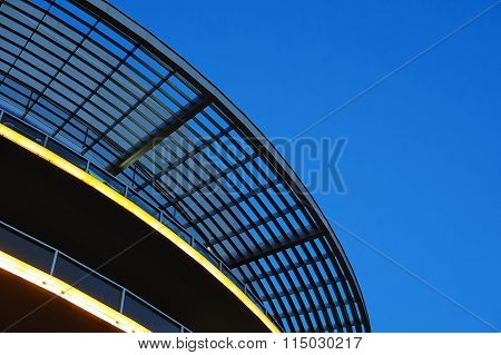 Element Oval Canopy Against The Sky