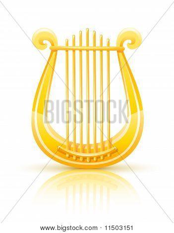 Greek Golden Lyre