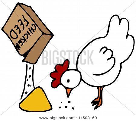 Hühnerfutter