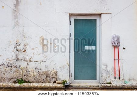 Doorway Of A Old House