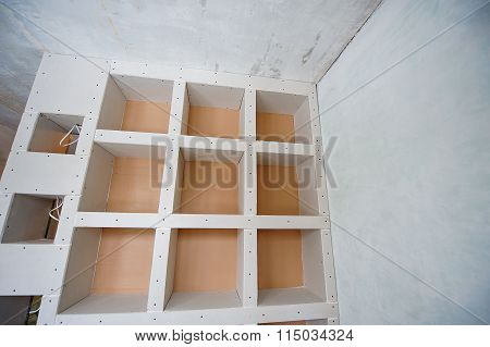 Plasterboard Construction Housing Repair, Partition