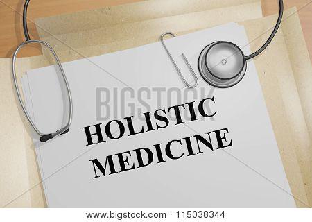 Holistic Medicine Concept