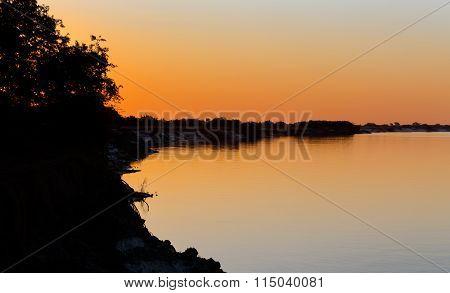 African Sunset On Zambezi