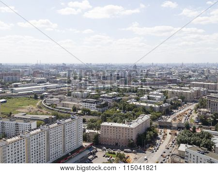 Moscow, Top View
