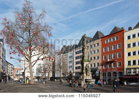 Alter Markt Square.