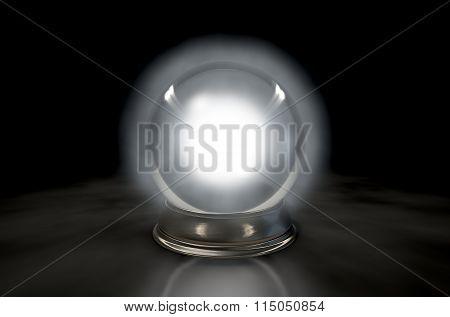 Crystal Ball Glowing