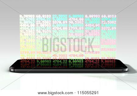 Smart Phone Stock App