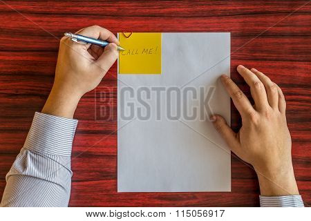 Left Handed Writing