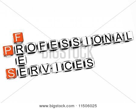 Profesional Services Crossword