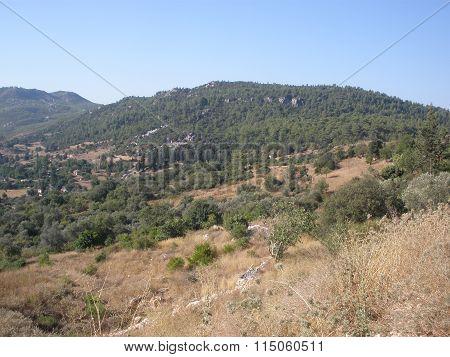 Mountain Valley In The Taurus Mountains