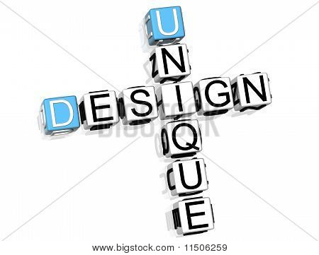 Uniqe design Crossword