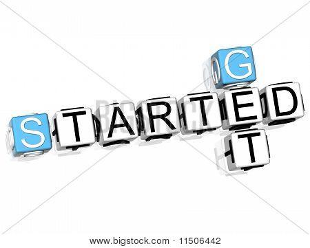 Get Started Crossword