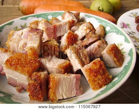 Crispy Roast Pork Belly BBQ