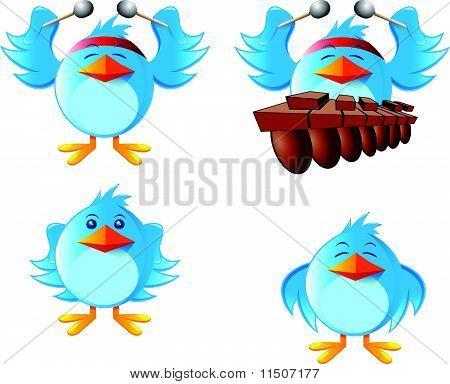 Image of marimba bird