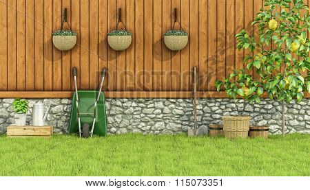 Tools For Gardening In A Garden
