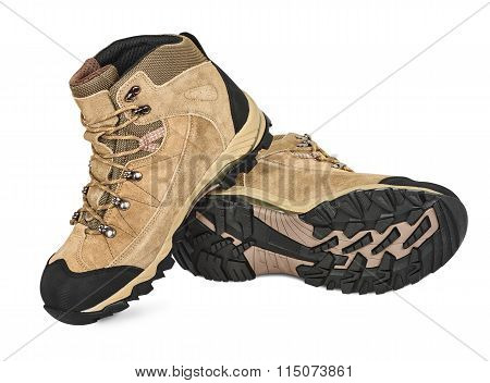 Suede Hiking Shoes