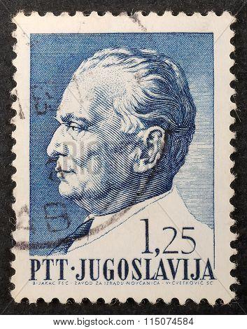 Postal Stamp Tito