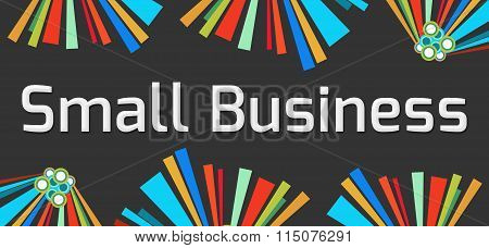 Small Business Dark Colorful Element