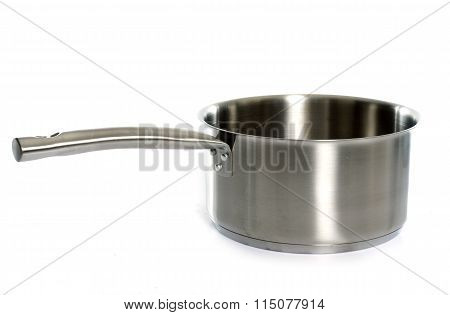 A Metal  Saucepan