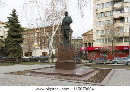 The Monument To Lenin V. I. Volgograd, Russia