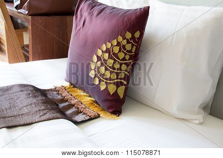 Pillow On Empty Bed