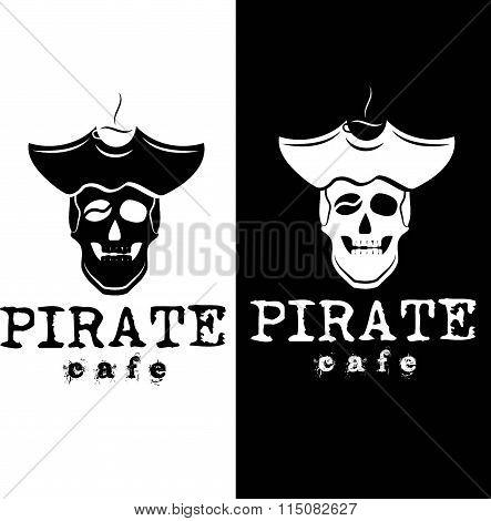 Pirate Cafe Illustration